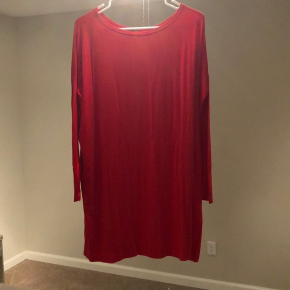 49994a20b2ee PIKO Dresses | Long Sleeve Red Dress | Poshmark